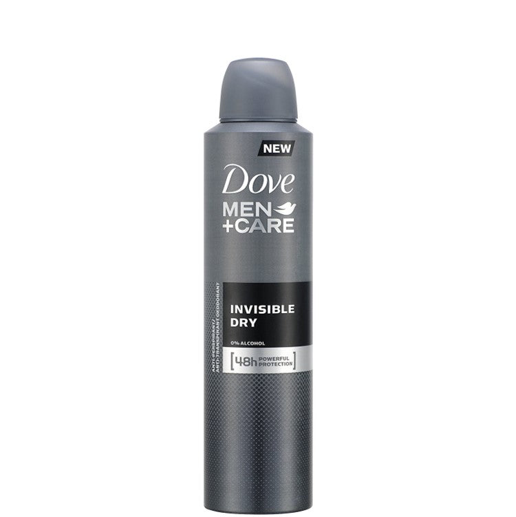 Dove Men+Care Invisible Dry Aerosol Deodorant 250ml