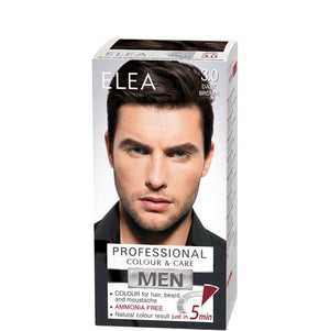ELEA for Men Colour for Hair, Beard & Moustache 100ml № 3.0 Dark Brown