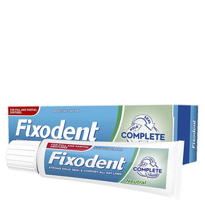 Fixodent Complete Neutral Denture Adhesive Cream 47g
