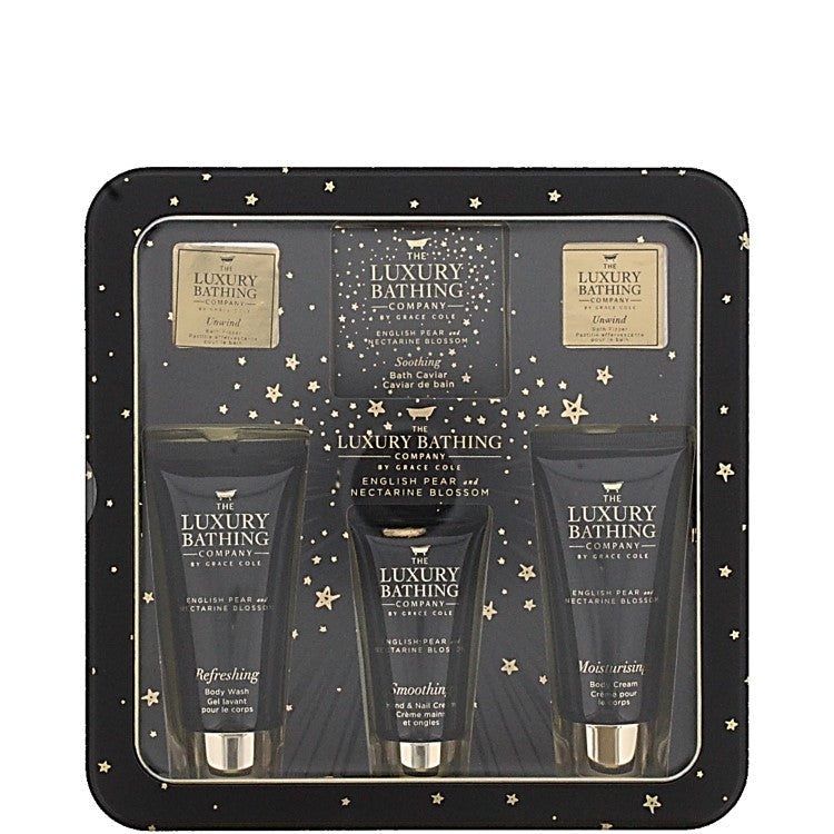 The Luxury Bathing Company by Grace Cole Magnificent Pamper 6 piece Gift Set