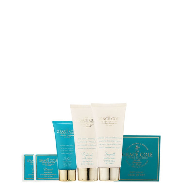 Grace Cole Sea Salt, Lemongrass & Amber Mesmerise 7pc Gift Set