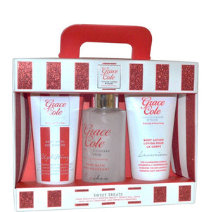 Grace Cole Frosted Cherry and Vanilla 3pc Set