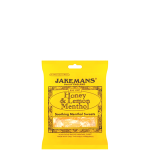 Jakemans Honey, Lemon and Menthol Sweets 100G