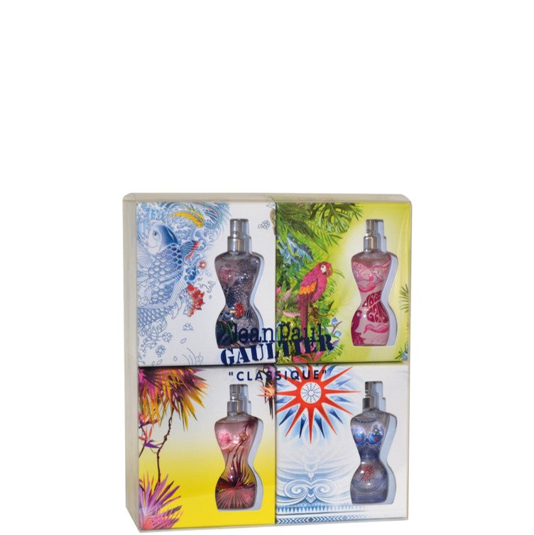 Jean Paul Gaultier Classique 4 Piece Summer Gift Set 3.5ml Mini