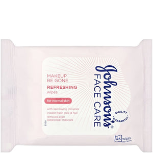 Johnson's Face Care Makeup Be Gone 25 Refreshing Wipes