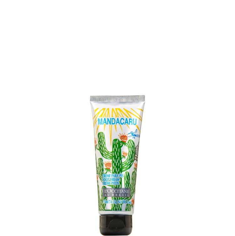 L'Occitane Mandacaru Foot scrub 75ml