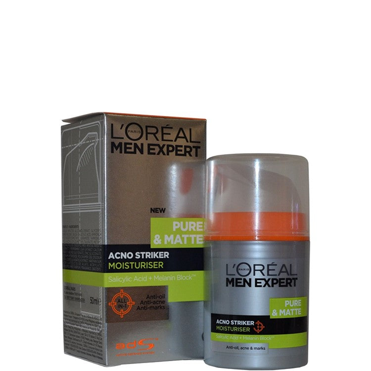 L'Oreal Men Expert Pure & Matte Acno Striker Moisturiser 50ml