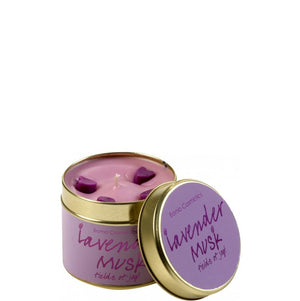 Lavender Musk Tin Candle