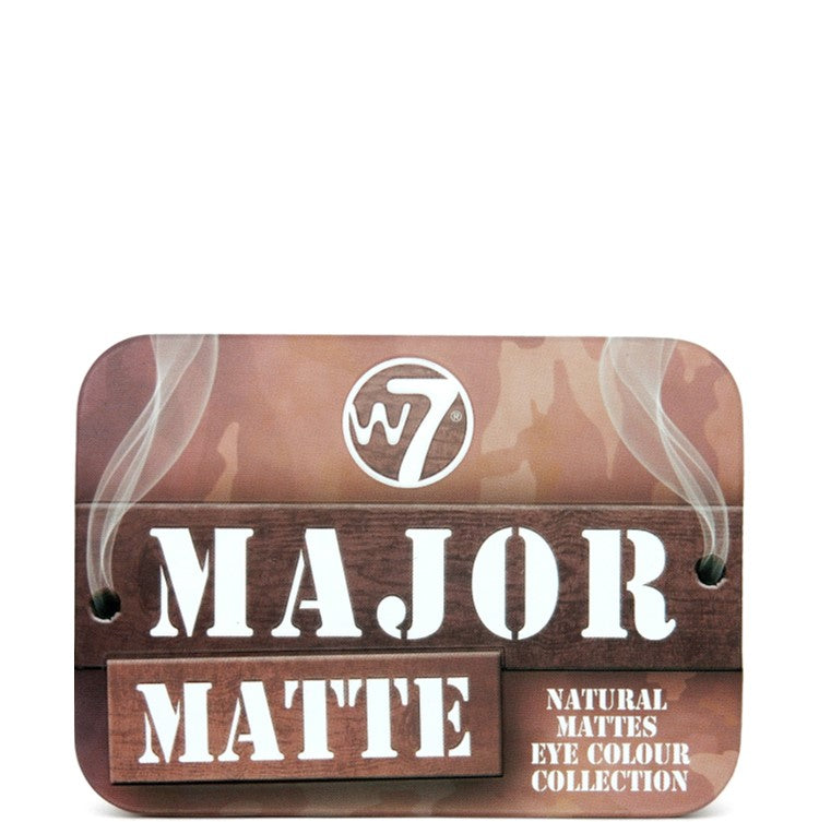 W7 Major Matte Eyeshadow Palette