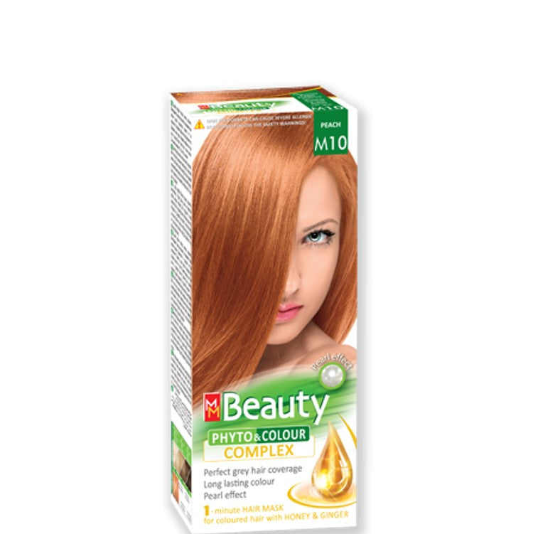 Permanent Hair colour 'MM Beauty Phyto & Colour' 125g № M10 Peach