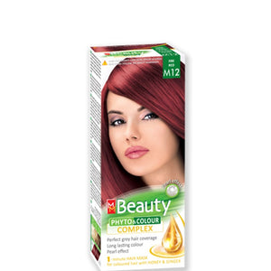 Permanent Hair colour 'MM Beauty Phyto & Colour' 125g № M12 Fire Red