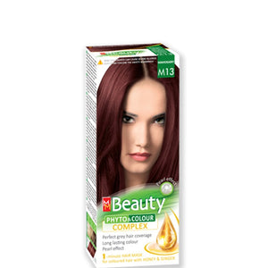 Permanent Hair colour 'MM Beauty Phyto & Colour' 125g № M13 Mahogany