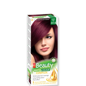 Permanent Hair colour 'MM Beauty Phyto & Colour' 125g № M14 Cherry Red