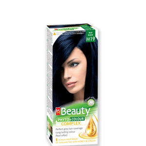 Permanent Hair colour 'MM Beauty Phyto & Colour' 125g № M19 Blue Black