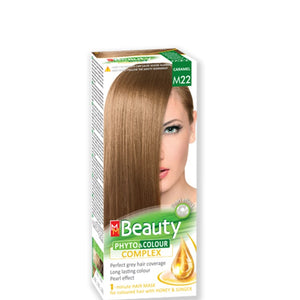 Permanent Hair colour 'MM Beauty Phyto & Colour' 125g - № M22 Caramel