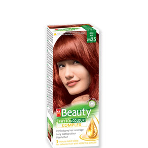 Permanent Hair colour 'MM Beauty Phyto & Colour' 125g № M25 Irish Red