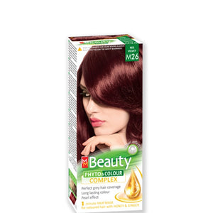 Permanent Hair colour 'MM Beauty Phyto & Colour' 125g № M26 Red Velvet