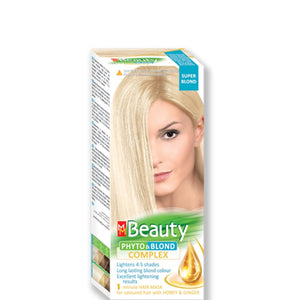 "Permanent Hair colour ""MM Beauty Phyto & Blond"" 95g Super Blond"