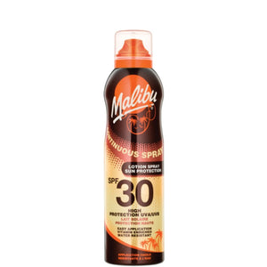 Malibu Continuous Sun Lotion Spray with SPF30 175ml