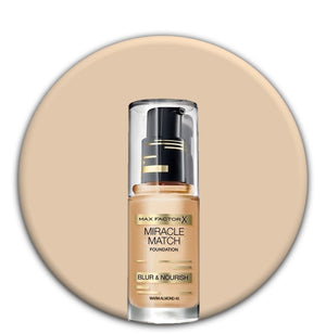 Max Factor Miracle Match Warm Almond 45
