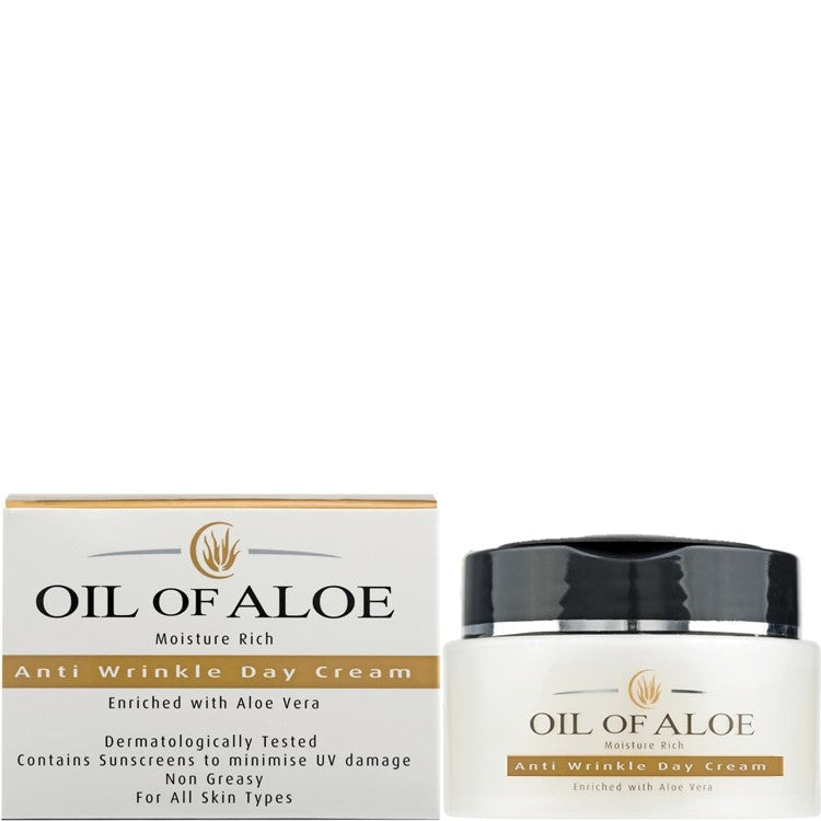 Oil of Aloe Moisture Rich Anti Wrinkle Day Cream 50ml