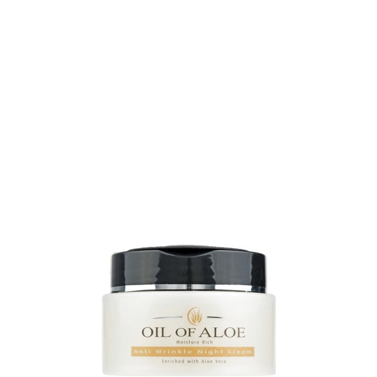 Oil of Aloe Moisture Rich Anti Wrinkle Night Cream 50ml