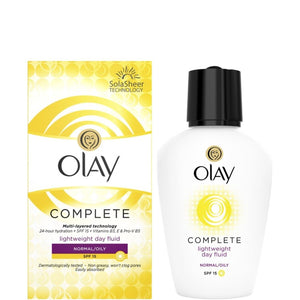 Olay Complete Day Moisturiser Fluid Normal/Oily 100ml