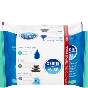 Osiris Facial Wipes Triple Pack
