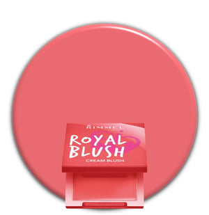 Coral Queen 003 Rimmel Royal Cream Blush
