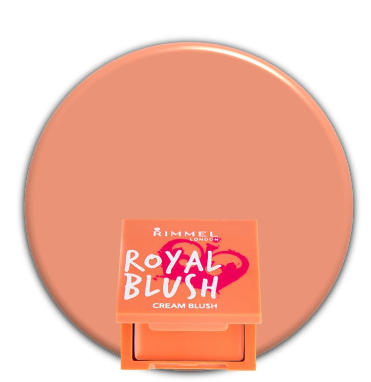 Peach Jewel 001 Rimmel Royal Cream Blush