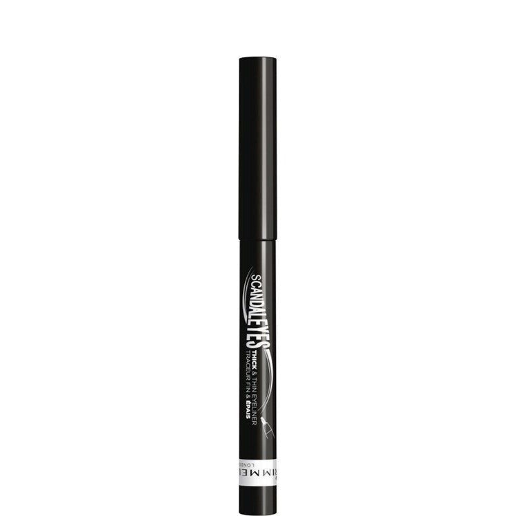Rimmel London Scandaleyes Thick & Thin Eyeliner Pen Black 001