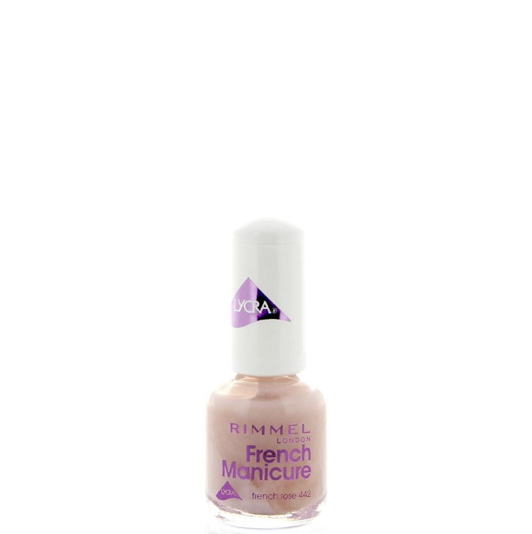 Rimmel Lycra French Manicure Nail Polish 442 French Rose