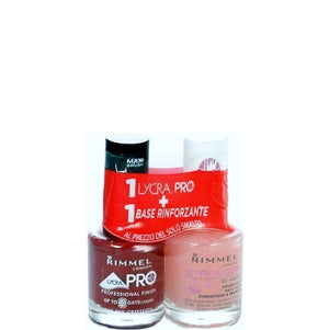 Rimmel London Lycra Pro Nail Polish Duo 12ml