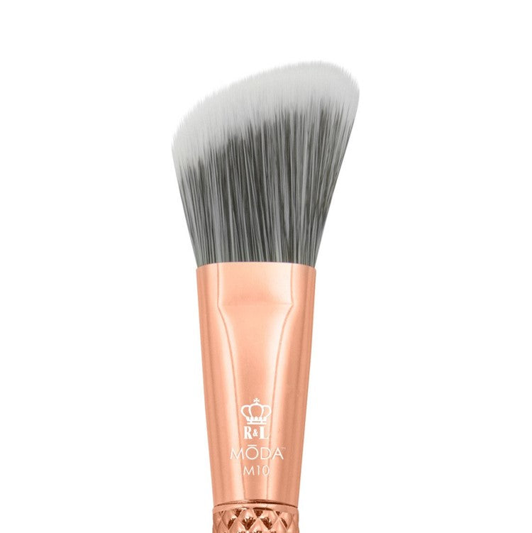 MODA Metallics Rose Gold Angle Foundation Brush
