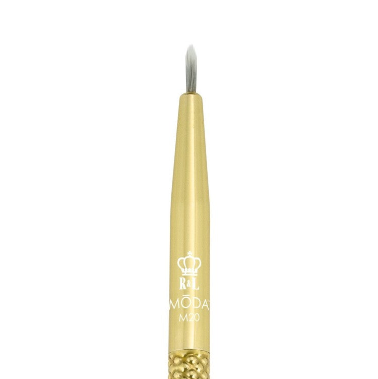 MODA Metallics Gold Fine Eyeliner Brush