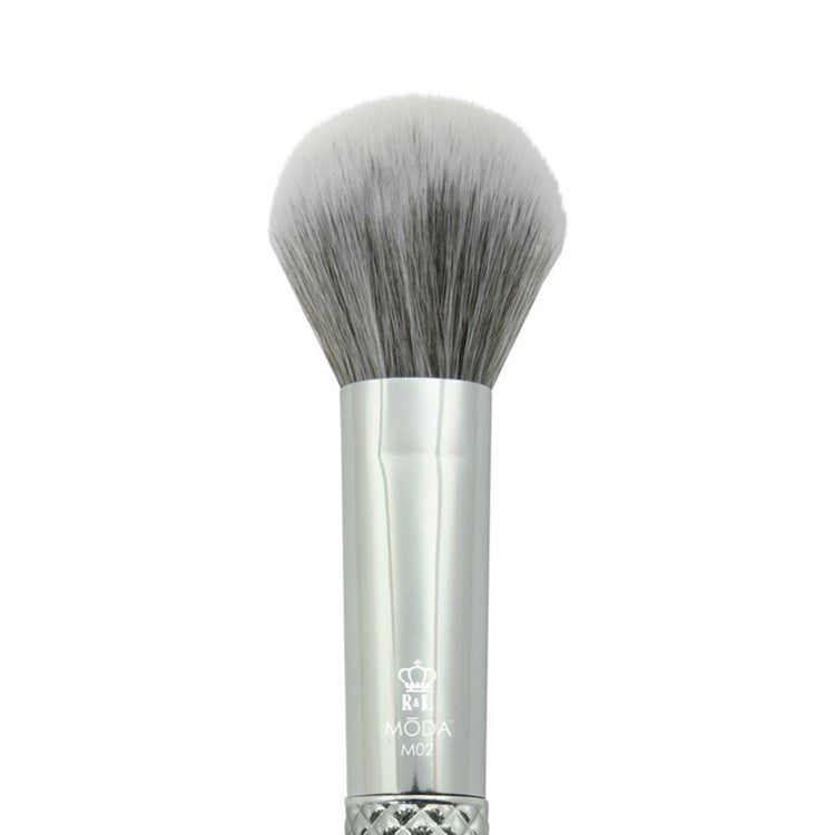 MODA Metallics Silver Multi-Purpose Powder Brush