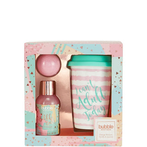 Style & Grace Bubble Boutique Travel Mug Set