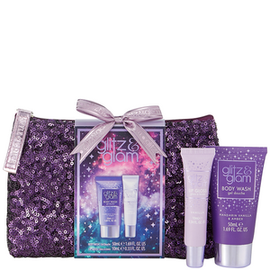 Style & Grace Glitz & Glam Galaxy Sequin Bag Set