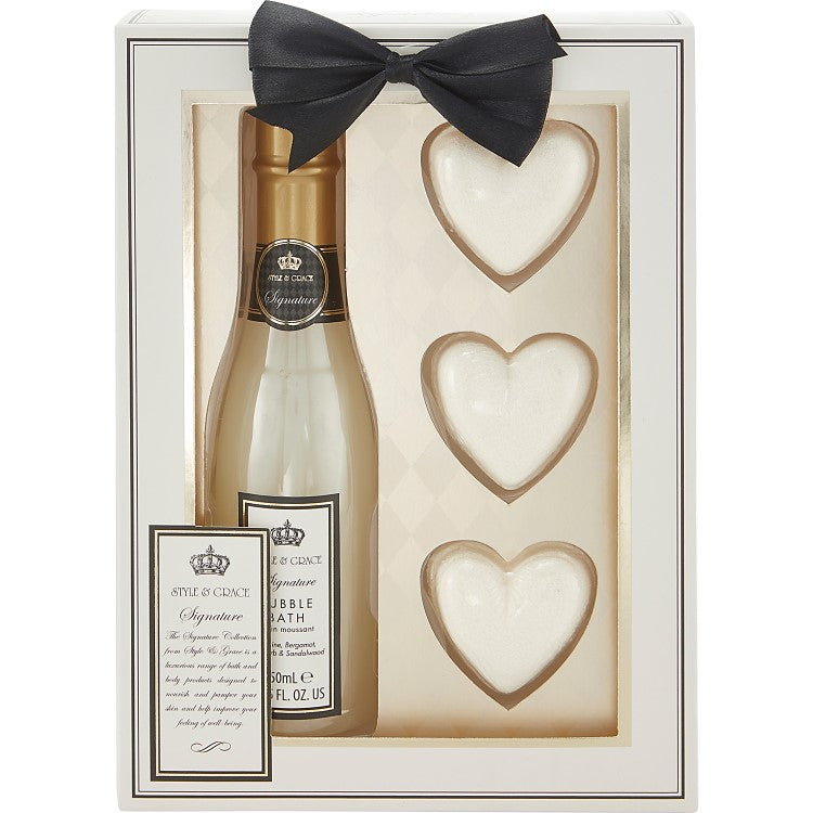 Style & Grace Signature Champagne Gift Set