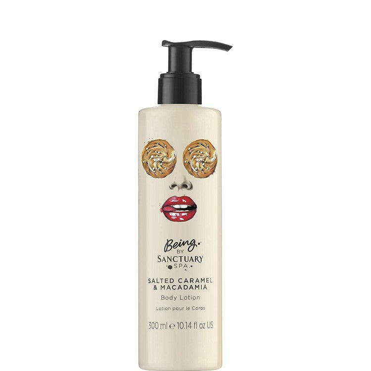 Sanctuary Spa Being Salted Caramel & Macadamia Body Lotion 300ml