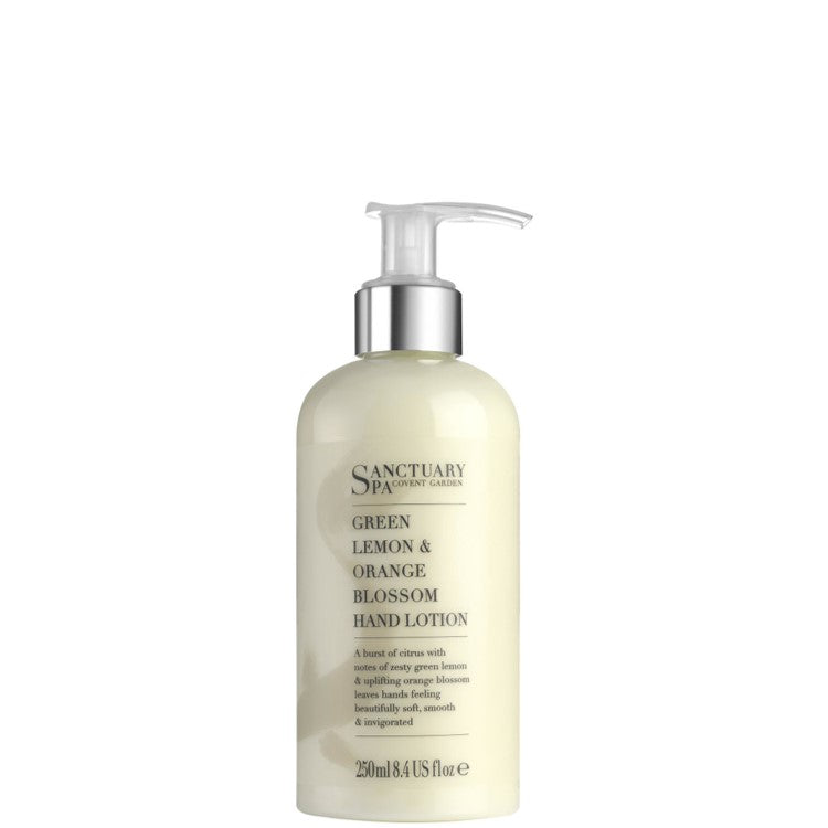 Sanctuary Spa Green Lemon & Orange Blossom Hand Lotion 250ml