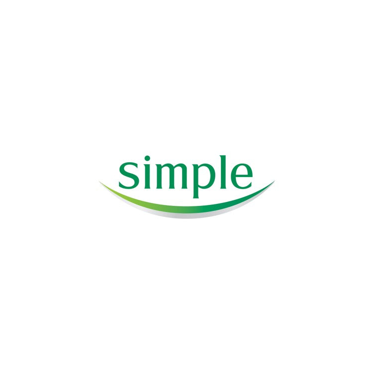 Simple Pure Soap for Sensitive Skin Twin Pack 2x125g