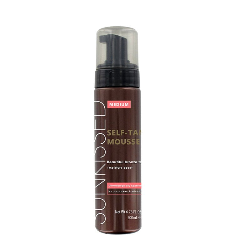 Sunkissed Instant Tan Mousse Medium Bronze 200ml