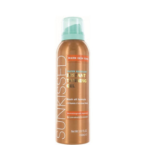 Sunkissed Instant Tanning Gel Warm Skin Tone