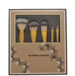 Sunkissed The Perfect Contour Makeup Brush Set 5 Piece