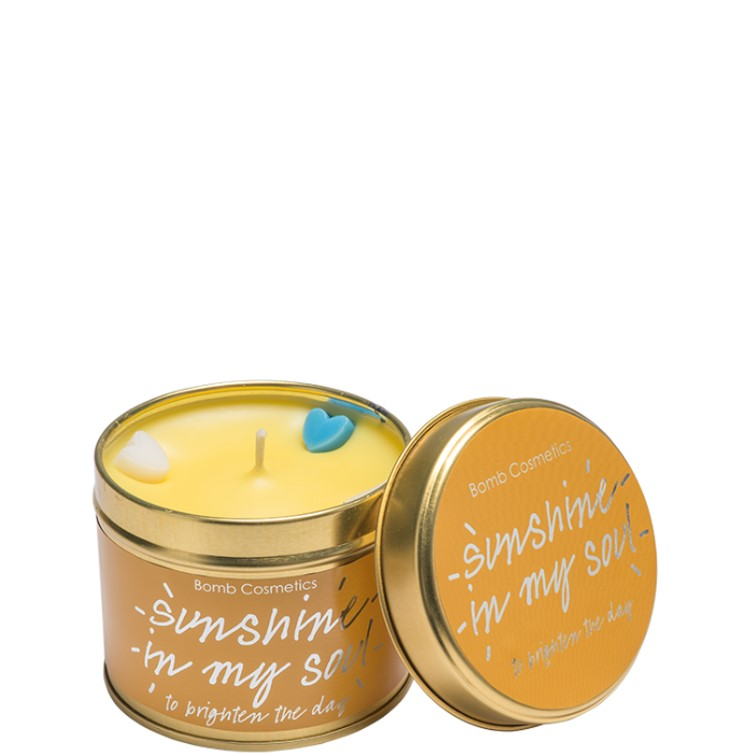 Sunshine in my Soul Tinned Candle