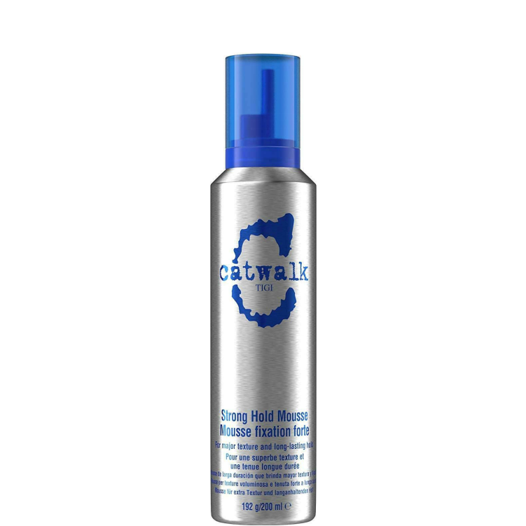 TIGI Catwalk Blue Strong Hold Mousse 200ml