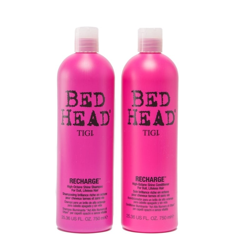 TIGI Bed Head Duo's High Octane Shine Shampoo & Conditioner 2x750ml