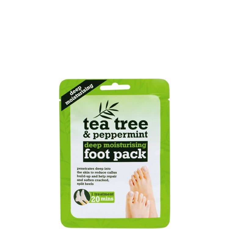 Tea Tree & Peppermint Foot Pack Moisturising Socks