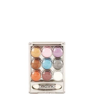 Technic 9 Pot Cream Eye Shimmer Eyeshadow Set